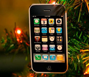 iphone kerstbal