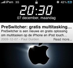 iPhoneclub SmartScreen-widget v2.0