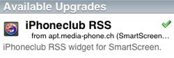 iPhoneclub SmartScreen-widget update