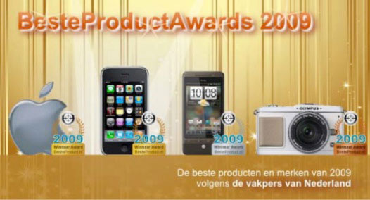 best product awards