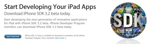 start developing your ipad apps