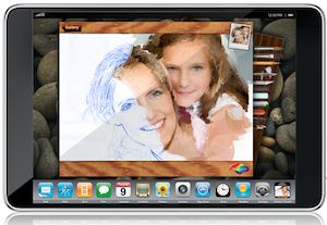apple tablet artist's touch