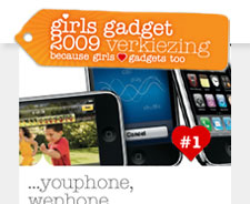 Girls Gadget 2009, de iPhone 3GS