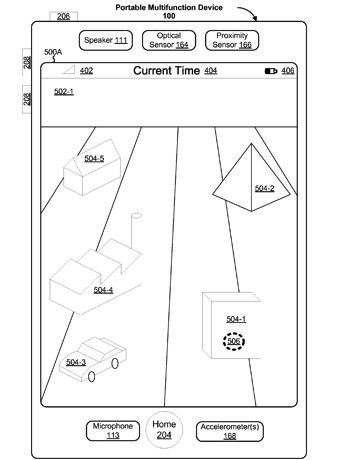 apple 3d patent