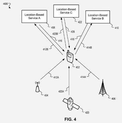 apple patent locatie