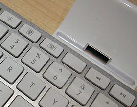 ipad keyboard close-up