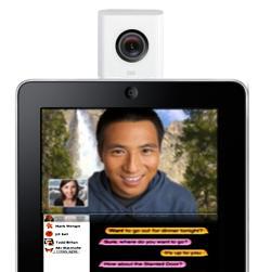 ipad camera isight