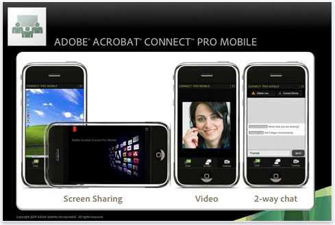 adobe connect pro mobile