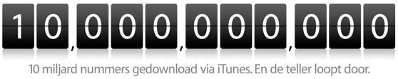 10 miljard downloads