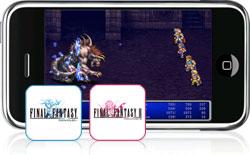 Final Fantasy 1 en 2 op de iPhone