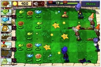 Plants vs Zombies op de iPhone iPod touch
