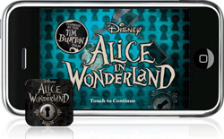 Disney Alice in Wonderland op de iPhone