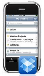 Dropbox op de iPhone