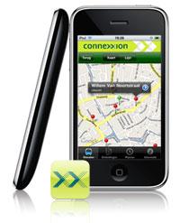 Connexxion bus iPhone-applicatie