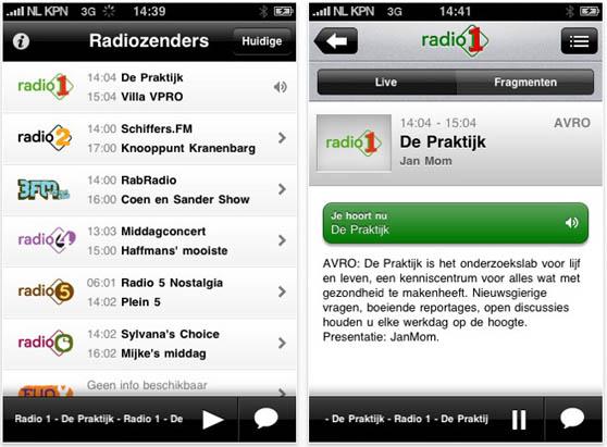 radio omroep iphone