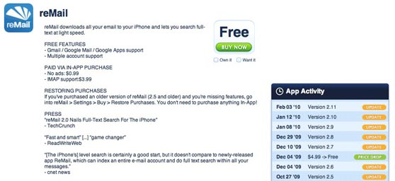 remail appshopper