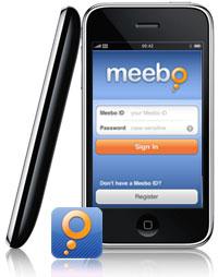 Meebo op de iPhone