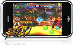 Street Fighter IV op de iPhone