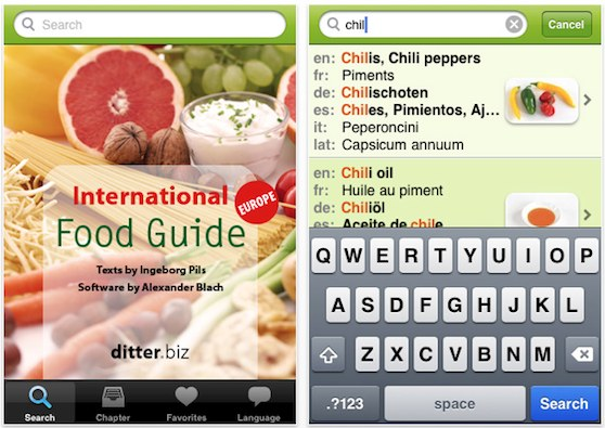 food guide iphone