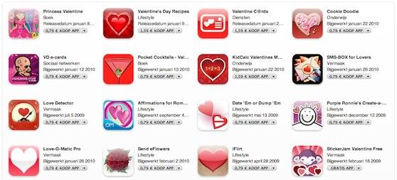 valentijn itunes store