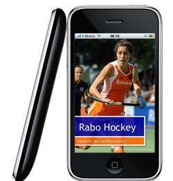 Rabo Hockey op de iPhone