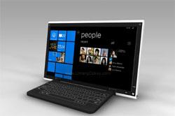 Tablet concept met Windows 7
