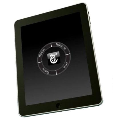De Telegraaf voor iPad - conceptvideo