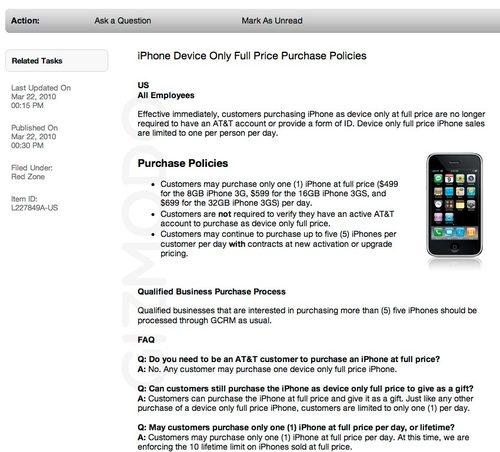 apple verkoop losse iphone