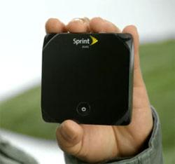 Sprint Overdrive 4G WiFi hotspot