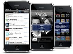 Notifo iPhone Push-notificaties