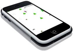 SkiFree! op de iPhone
