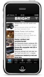 Preview Bright 1.1 op de iPhone