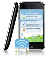 Wi-Fi Finder op de iPhone