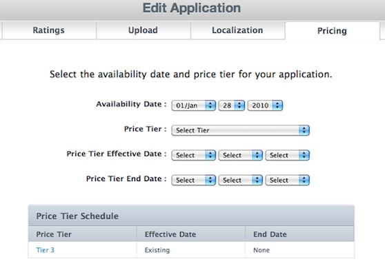 prijsactie app store