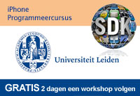 Gratis iPhone programmeercursus Universiteit Leiden
