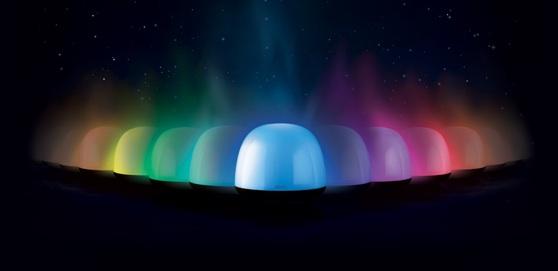 Gear4 SoundOrb Aurora kleuren