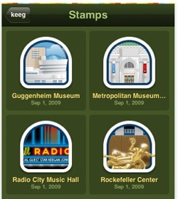 gowalla stamps