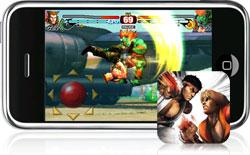 Street Fighter IV op de iPhone