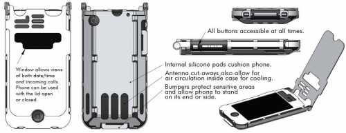 stainless steel iphone case