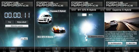 Porsche app