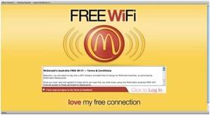 mcdonalds free wifi