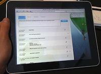Zorgdossier op de iPad