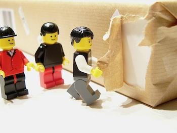 lego ipad uitpakken