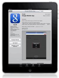 google mobile ipad