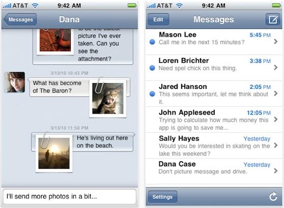 textie messaging