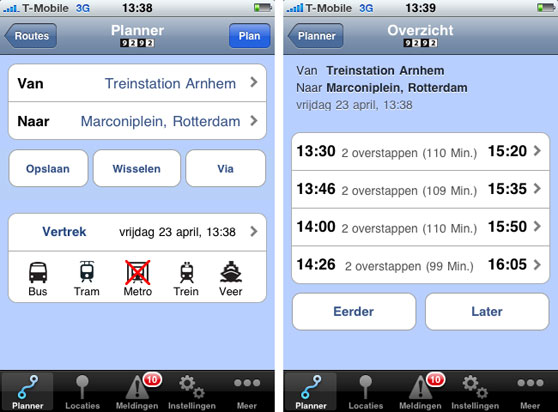 iphone planner