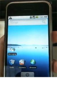 Android op de iPhone