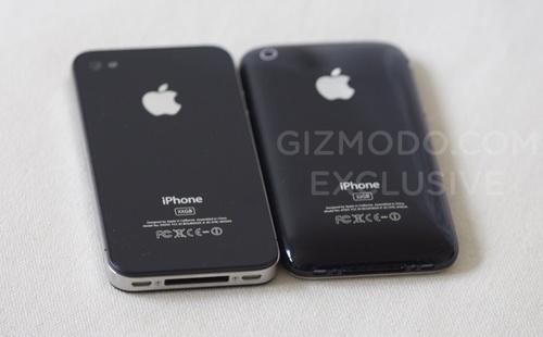 iphone 4 naast iphone 3gs