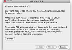 Redsn0w 0.9.5 beta