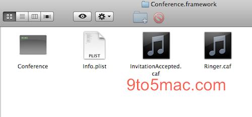 Conference.framework voor videochatten in iPhone OS 4